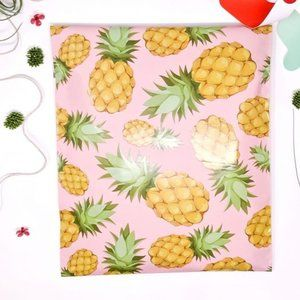 20 pieces 10x13 pineapple design poly mailer